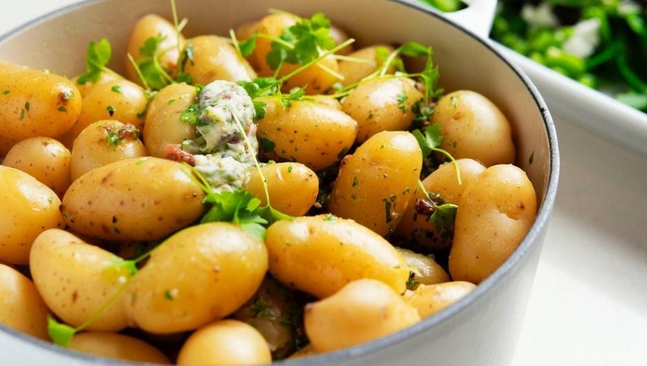 Ziemniaki na parze: przepis