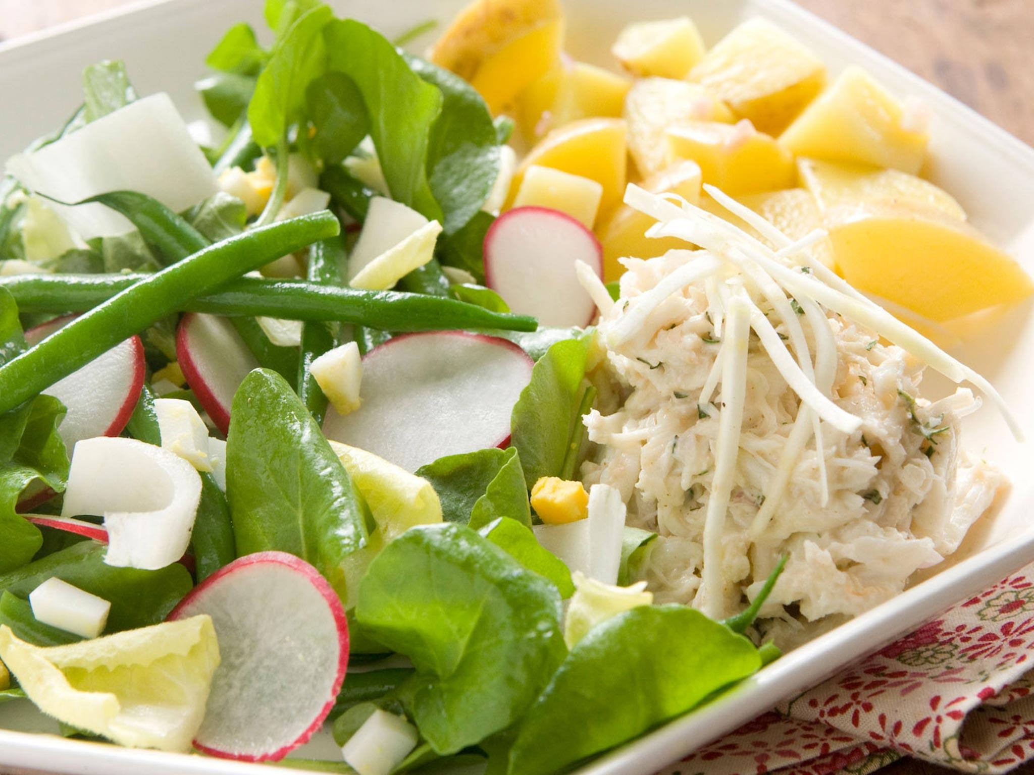kraby salatka para