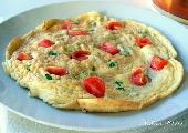 omlet na parze